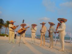 Mariachi bring that festive touch to your wedding day at Dreams Tulum