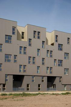 """Habitações Sociais Para Alugar """"Le Bois Habité"""" / Pich-Aguilera Architects"""