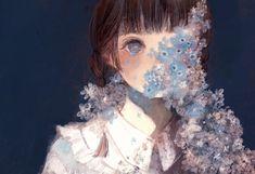 Aesthetic Art, Aesthetic Anime, Anime Art Girl, Manga Art, Pretty Art, Cute Art, Art Sketches, Art Drawings, Image Manga