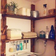 Interior examples such as bath / toilet / deer wall / 100 uniform / DIY / ceria Baby Nursery Diy, Wood Platform Bed, Bedroom Accessories, Diy Interior, Diy Room Decor, Home Decor, Home Crafts, Decor Crafts, Diy Crafts