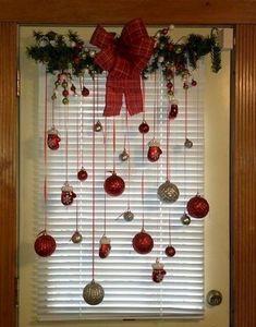 Decoração De Janelas No Natal