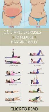 The best 11 exercises to lose belly fat and flatten tummy fast. These exercises .,The best 11 exercises to lose belly fat and flatten tummy fast. These exercises for belly fat for beginners and you can do these workouts at home to l. Lower Belly Workout, Workout For Flat Stomach, Exercise To Lose Belly Fat, Belly Fat Burner Workout, Stomach Workout For Beginners, Best Fat Burning Workout, Burn Stomach Fat, Lose Stomach Fat Diet, Lose Fat Workout