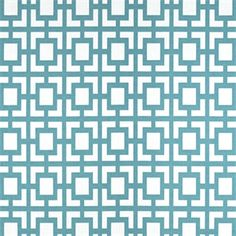 This is a blue and white geometric design drapery fabric by Premier Prints. It is suitable for any home decor.v114TNFThis items usually ships one week from order date. Minimum one yard cut.