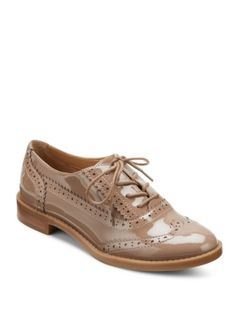 Franco Sarto - Wing Tip Lace-Up Oxfords