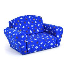 Kidz World Furniture Univ. of Kentucky Wildcats Sleep_Sofa - KWF-1850-1-KY. Kidz World Furniture Univ. of Kentucky Wildcats Sleep_Sofa - KWF-1850-1-KY This versatile Sleep_Sofa is not to be confused with the competitions foam furniture. Rather, this sofa is constructed using a mixed hardwood .. . See More Sleepover Sofas at http://www.ourgreatshop.com/Sleepover-Sofas-C1001.aspx