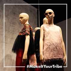 Tribe is available in #Bonaveri showrooms worldwide…#London #Paris #Tokyo #NewYork….This is Tribe in New York.  #MakeItYourTribe #fashion #windows #vm #retaildisplay #styleitup #visualinspiration #visualmerchandising