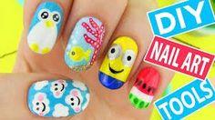Sara beauty corner diy nail art tools + nail art