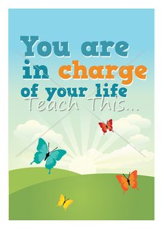 You Are In Charge Poster