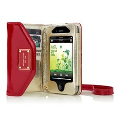 Michael Kors Wallet Clutch for iPhone in red!