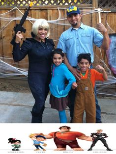 Wreck it Ralph!!! Another homemade costume... This was a fun year!