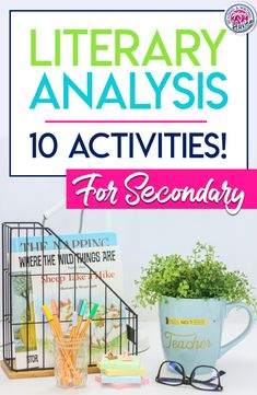 Teaching students to read like writers? To write like readers? At the foundation, you'll find literary analysis. Use these 10 best practice, high-interest, and effective literary analysis activities with middle and high school students to elevate thinking! #LiteraryAnalysis #MiddleSchoolELA #HighSchoolELA Social Studies Classroom, High School Classroom, English Classroom, Literary Essay, Middle School Ela, Student Teaching, Teaching Reading, Activities, Writers