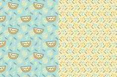 The Dancing Melons Pattern Pack - Patterns - 4