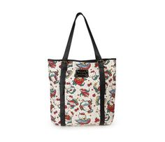 b793f3fad1 Check out Hello Kitty Tote  Tattoo Print Collection from Sanrio