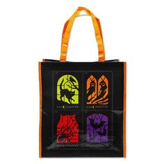 Spooky Silhouettes Tote Bag   USPS.com Halloween Silhouettes, Reusable Grocery Bags, Digital Illustration, Pets, Stamps, Ebay, Shoulder Length, October, Illustrations