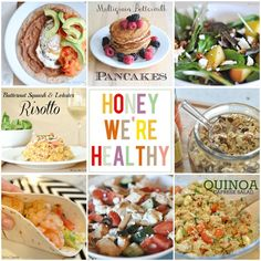 Honey We're Home: Honey We're Healthy simple, healthy recipes for busy families