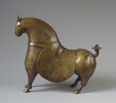 Эрмитаж Санкт-Петербург - Фигура коня  Иран, X в.