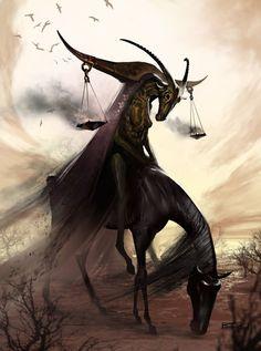 Apocalypse Horsemen Design: Famine