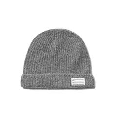 visvim Knit Beanie (Wool) Grey