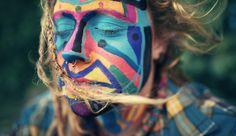 Benoit P. Rainbow Gathering Québec by Benoit Paillé, via Behance Rainbow Gathering, Hippie Man, Hippie Love, Hippie Chick, Eclipse Solar, Rainbow Family, Benoit, We Are The World, Favim