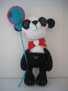 Birthday panda bear