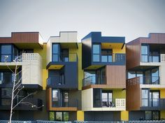 Tetris appartments, OFIS (Slovenia)