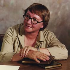 """Marion Elenor Bradley (1930 - 1999) Fantasy and Science Fiction author and editor and receiver of numerous awards. She created the Darkover series and among many others wrote the highly successful novel """"The Mists of Avalon"""". She also edited the fantasy short story collections """"Sword & Sorceress"""" and """"The Marion Zimmer Bradley Fantasy Magazine""""."""