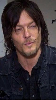 Norman puckers up