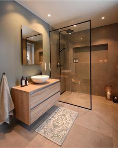 44 magnificient scandinavian bathroom design ideas that looks cool – Bathroom Inspiration Scandinavian Bathroom Design Ideas, Modern Bathroom Design, Bathroom Interior Design, Bath Design, Key Design, Toilet And Bathroom Design, Bathroom Vinyl, Brown Bathroom, Mirror Bathroom