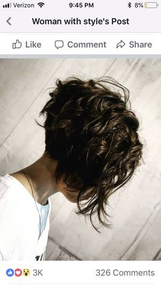 Short Wavy Haircuts, Layered Haircuts For Women, Short Hair Cuts For Women, Pixie Haircuts, Short Wavy Hairstyles For Women, Short Cuts, Haircut Short, Spring Hairstyles, Shirt Curly Hairstyles