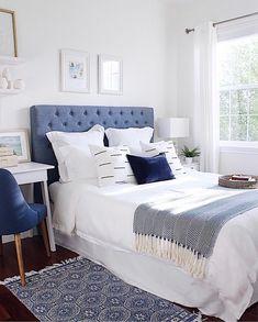 Beach House Bedroom, Home Decor Bedroom, Modern Bedroom, Bedroom Ideas, Diy Bedroom, Bedroom Signs, White Bedroom, Bedroom Apartment, 1930s Bedroom