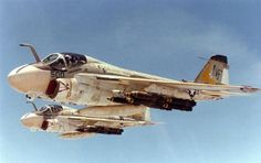 A6 Intruder   VA-115. A-6E Trams and they are looking a little dirty