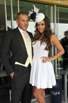Tamara Ecclestone and Omar Khyami au Royal Ascot d'Ascot, le 19 juin 2012