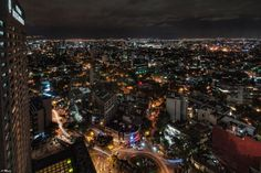 Mexico City from 37th floor of Nikko Hotel.  Ay yai yai.