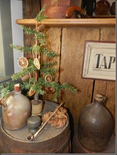 primitive Christmas style