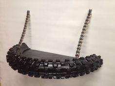 dirt bike tire shelf