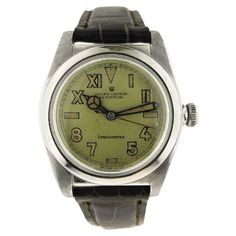 Shop luxury and designer wrist watches and other gold antique and vintage watches from the world's best jewelry dealers. Vintage Rolex, Vintage Watches, Fine Jewelry, Jewellery, Oyster Perpetual, Patek Philippe, Oysters, Switzerland, Watches For Men