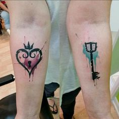 Gamer Tattoos For Couples 1000 ideas about kingdom hearts tattoo on . Lock Tattoo, Haut Tattoo, Flesh Tattoo, 22 Tattoo, Tattoo Art, Gamer Tattoos, Tattoos Skull, Body Art Tattoos, Sleeve Tattoos