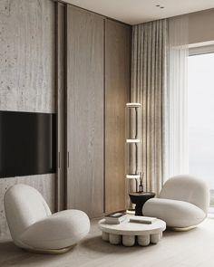 Room Interior Design, Luxury Homes Interior, Living Room Interior, Home Interior, Interior Architecture, Living Room Decor, Furniture Design, Chinese Architecture, Futuristic Architecture
