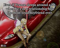 "I WANT HIM.<--- haha. Guys I think if I knew the hetalia people I would dub France as my ""mom"""