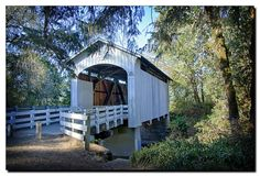 There's A Covered Bridge Trail In Oregon