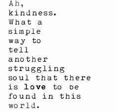 kindness #superpower