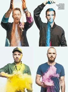 Coldplay - A head full of dreams .Love, love, love these guys! Great Bands, Cool Bands, Music Is Life, My Music, Music Stuff, Guy Berryman, Karaoke, Groupe Pop Rock, Chris Martin Coldplay