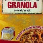 Misadventures in Labeling - Gluten Free Granola