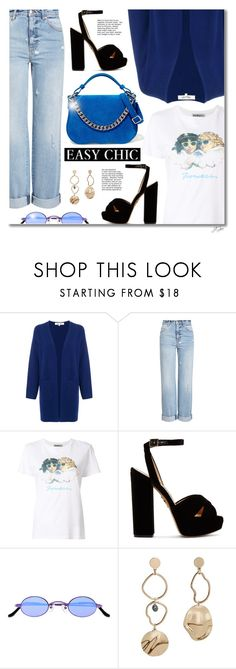"""Top Fashion Products Outfit of the Day 2/25/18"" by jgee67 ❤ liked on Polyvore featuring Diane Von Furstenberg, Alexander McQueen, Fiorucci, Charlotte Olympia, Roberi & Fraud, MANGO, Calvin Klein 205W39NYC, polyvoreblogger and polyvoreeditorial"