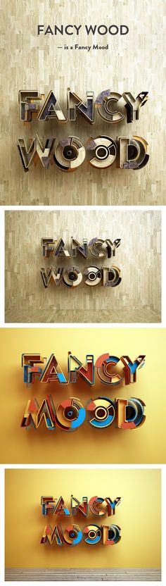 Fancy Wood is a Fancy Mood | Showcase San - Discover the best of creativity online!