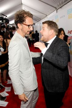 John Carney (Director) and James Corden