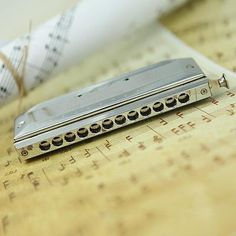 Chromatic Harmonica Mouth Organ 12 Holes with 48 Tone Key of C Reed By Swan