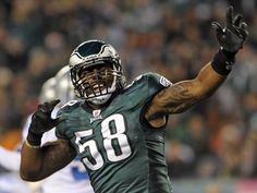 Trent Cole... Oh heyyy there muscles :)