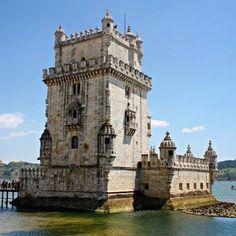 La Torre de Belém es un símbolo en #Lisboa de lo más coqueta. by lvdclaudia