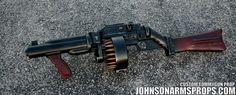 Diesel Punk Style Tommy Gun Prop by JohnsonArms.deviantart.com on @DeviantArt